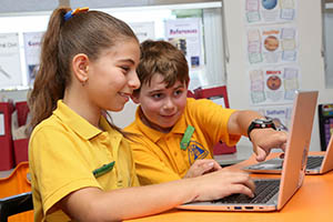 ICT used to enrich learning
